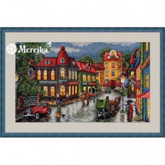 Cross Stitch Kit Old City K-59