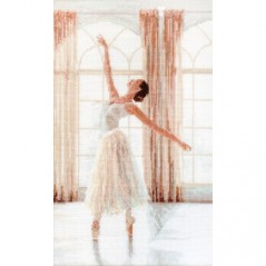 Cross stitch kit Ballerina LETI 906