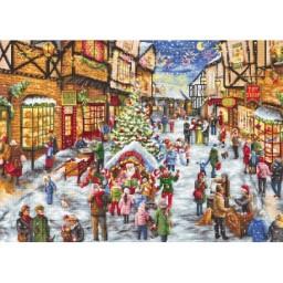 Cross stitch kit Christmas Eve LETI 909