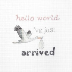 Cross Stitch Kit A Gift For A Newborn LETI 931