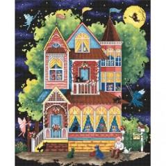 Cross stitch kit Fairy Tale House LETI 937