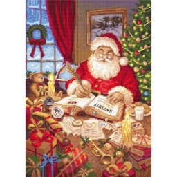 Cross Stitch Kit The list of naughty and nice LETI 951