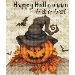 Cross stitch kit Trick Or Treat Halloween LETI 956