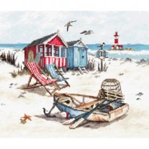 Cross stitch kit Beach LETI 972