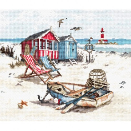 Cross stitch kit Beach LETI 972