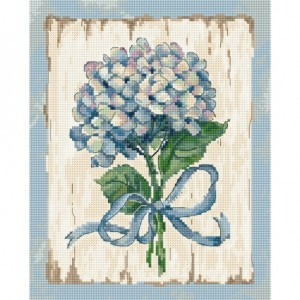Cross stitch kit Blue LETI 973