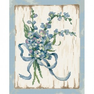 Cross stitch kit Blue LETI 974
