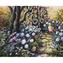 Cross stitch kit Wonderland Garden LETI 982