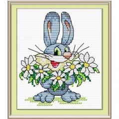Cross Stitch Kit Bunny M-024