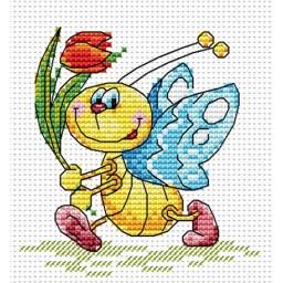 Cross stitch kit Festive Mood M-086