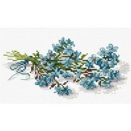 Cross Stitch Kit Flower Beauty M-118