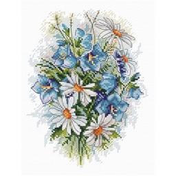 Cross stitch kit Field Flowers M-120