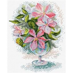 Cross Stitch Kit Flower Bouquet M-123