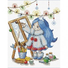 Cross Stitch Kit Inventive Winter M-179
