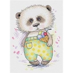 Cross Stitch Kit Bear M-183