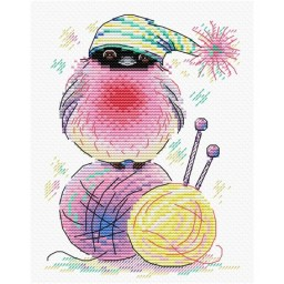 Cross Stitch Kit Bird M-282
