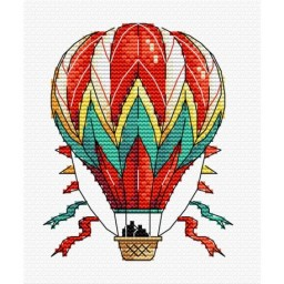 Cross Stitch Kit Air Ballon M-353
