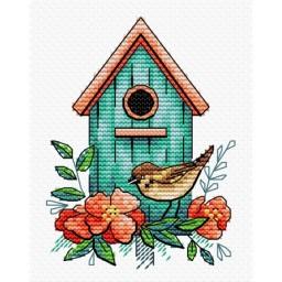 Cross Stitch Kit Sparrow Home M-366