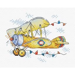 Cross Stitch Kit Flight Charm M-369