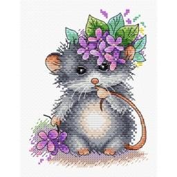 Cross Stitch Kit Little mouse M-431