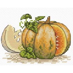 Cross stitch kit Pumpkin M-441