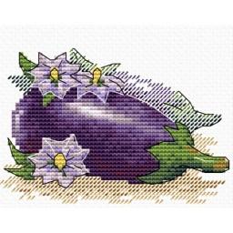 Cross Stitch Kit Eggplant M-500