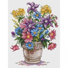 Cross stitch kit Bouquet Of Inspiration M-501