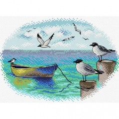Cross Stitch Kit At the Pier M-557
