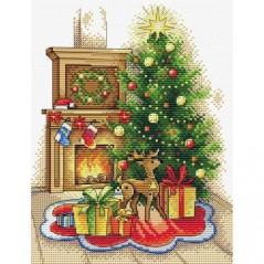Cross Stitch Kit CHRISTMAS PARTY M-565
