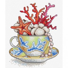 Cross Stitch Kit A Gulp Of The Sea M-606