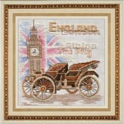 Cross Stitch Kit London M-007