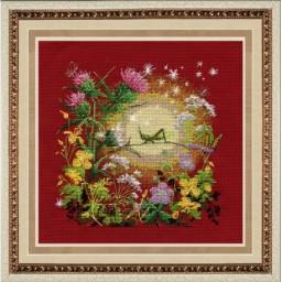 Cross Stitch Kit Sunset M-022
