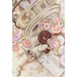 Cross Stitch Kit Little Fairy NV-564