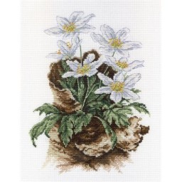Cross Stitch Kit FIRST FLOWERS NV-567 Pre-order