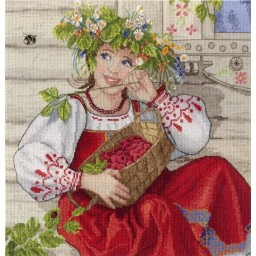 Cross Stitch Kit Summer Beauty NV-600