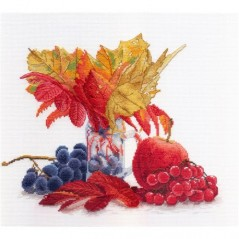 Cross Stitch Kit Autumn Colours NV-603