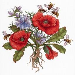 Cross Stitch Kit Sweet Nectar NV-654