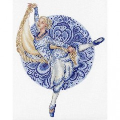 Cross Stitch Kit Ballerina NV-667