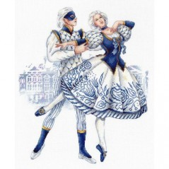 Cross Stitch Kit IMPERIAL PORCELAIN NV-668