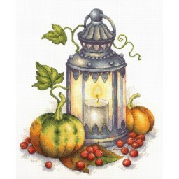 Cross stitch kit AUTUMN FLAME NV-684 Pre-order
