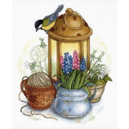 Cross stitch kit SPARK OF SPRING NV-689 Pre-order