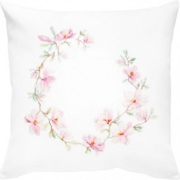 Cross Stitch Kit Pillow Magnolia PB182 Pre-order