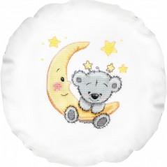Cross Stitch Kit Pillow Baby PB196