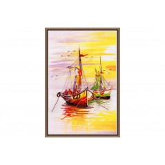 Cross Stitch Kit Native Harbour-1 art. PK-013