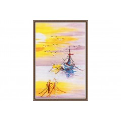 Cross Stitch Kit Native Harbour-2 art. PK-014