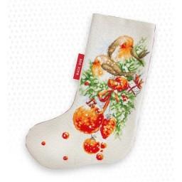 Cross stitch kit Christmas Stocking PM1229
