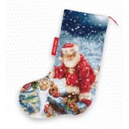 Cross stitch kit Christmas Stocking PM1231