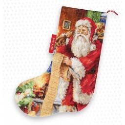 Cross stitch kit Christmas Stocking PM1232