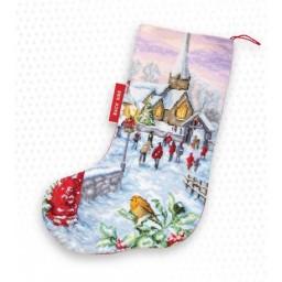 Cross Stitch Kit Christmas Stocking PM1240