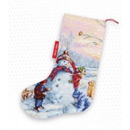 Cross Stitch Kit Christmas Stocking PM1241